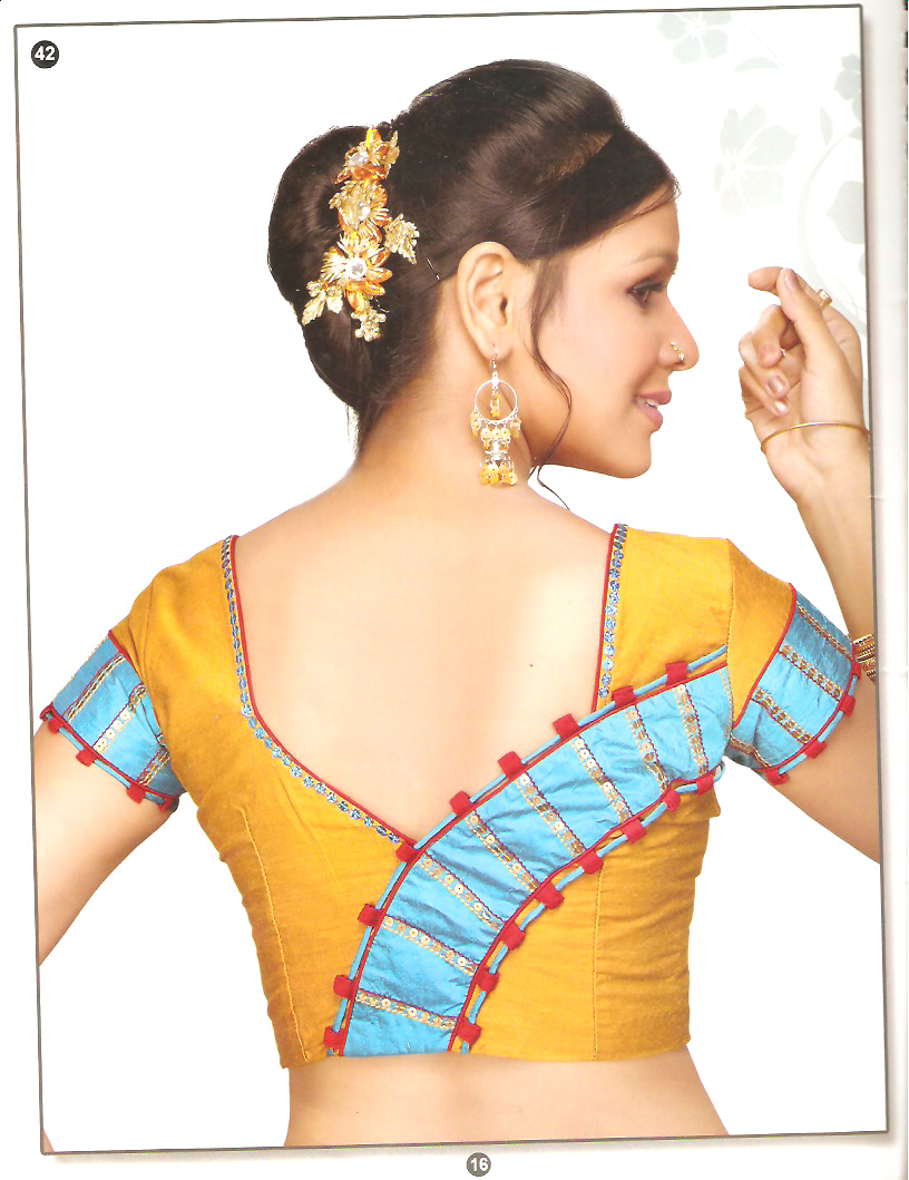 Indian Ladies Blouse Back Design 72