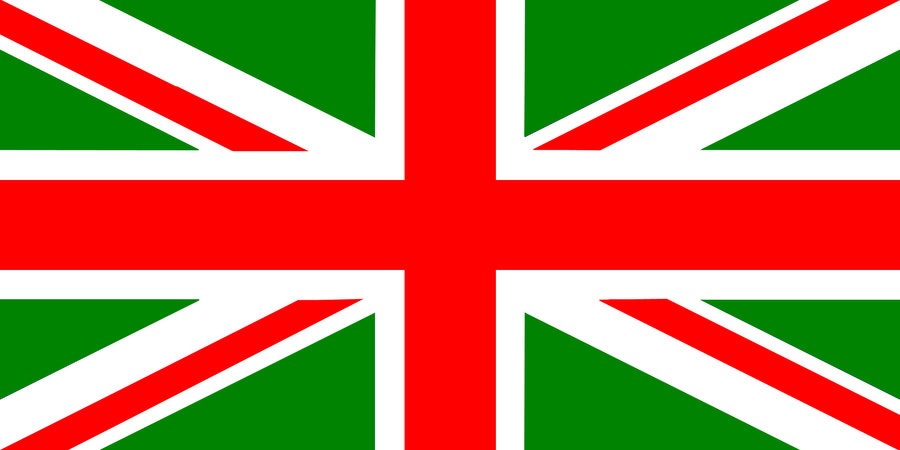 There is no r*yal blue in the flag of the Republic of Britannia