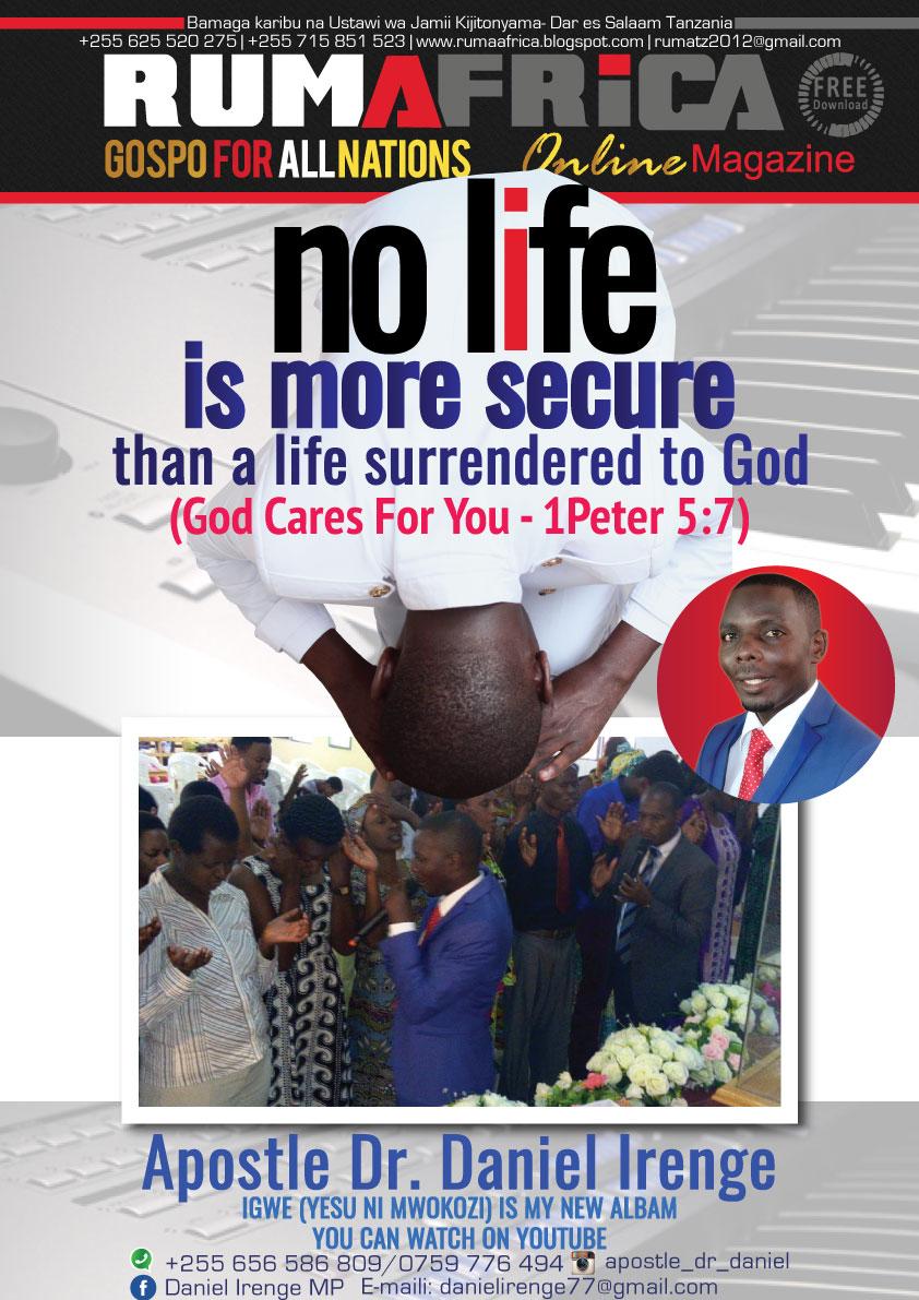 APOSTLE DR. DANIEL IRENGE - NO LIFE