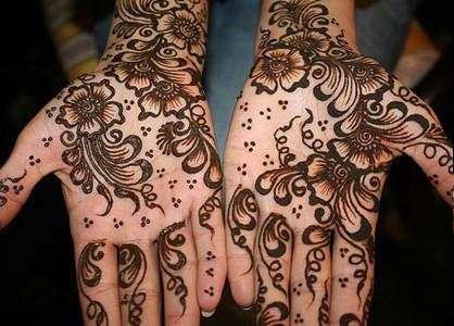 Design of Indian Mehndi