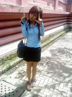Bobo Mini in Norton university uniform 3