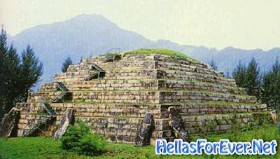 Πελασγικές Πυραμίδες στην Κίνα