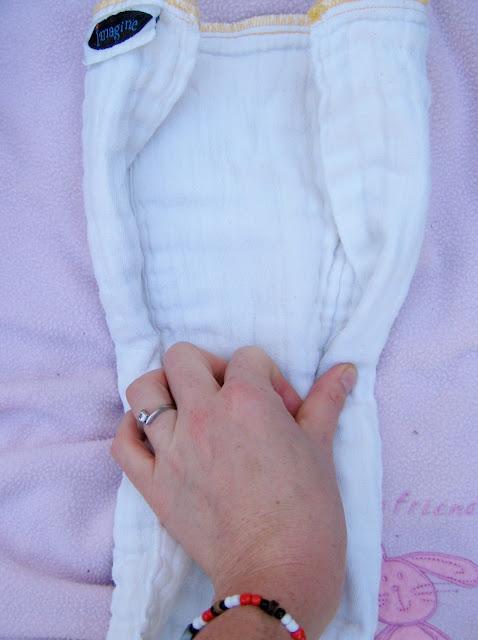 Prefolds - jellyroll fold
