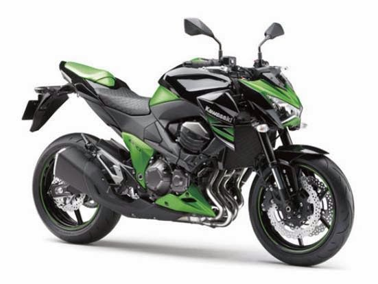 2014 Kawasaki Z800 Specs