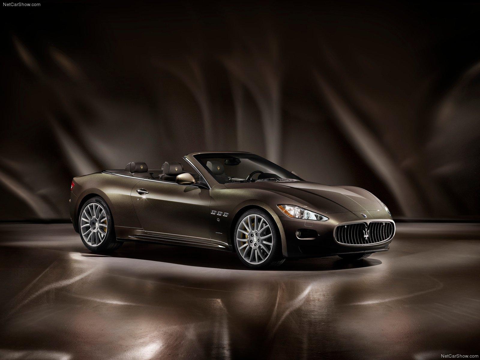 Hình ảnh siêu xe Maserati GranCabrio Fendi 2012 & nội ngoại thất