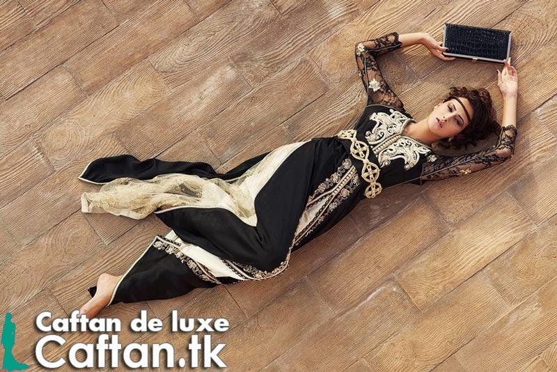 Caftan 2014 | Robe de soirée noire