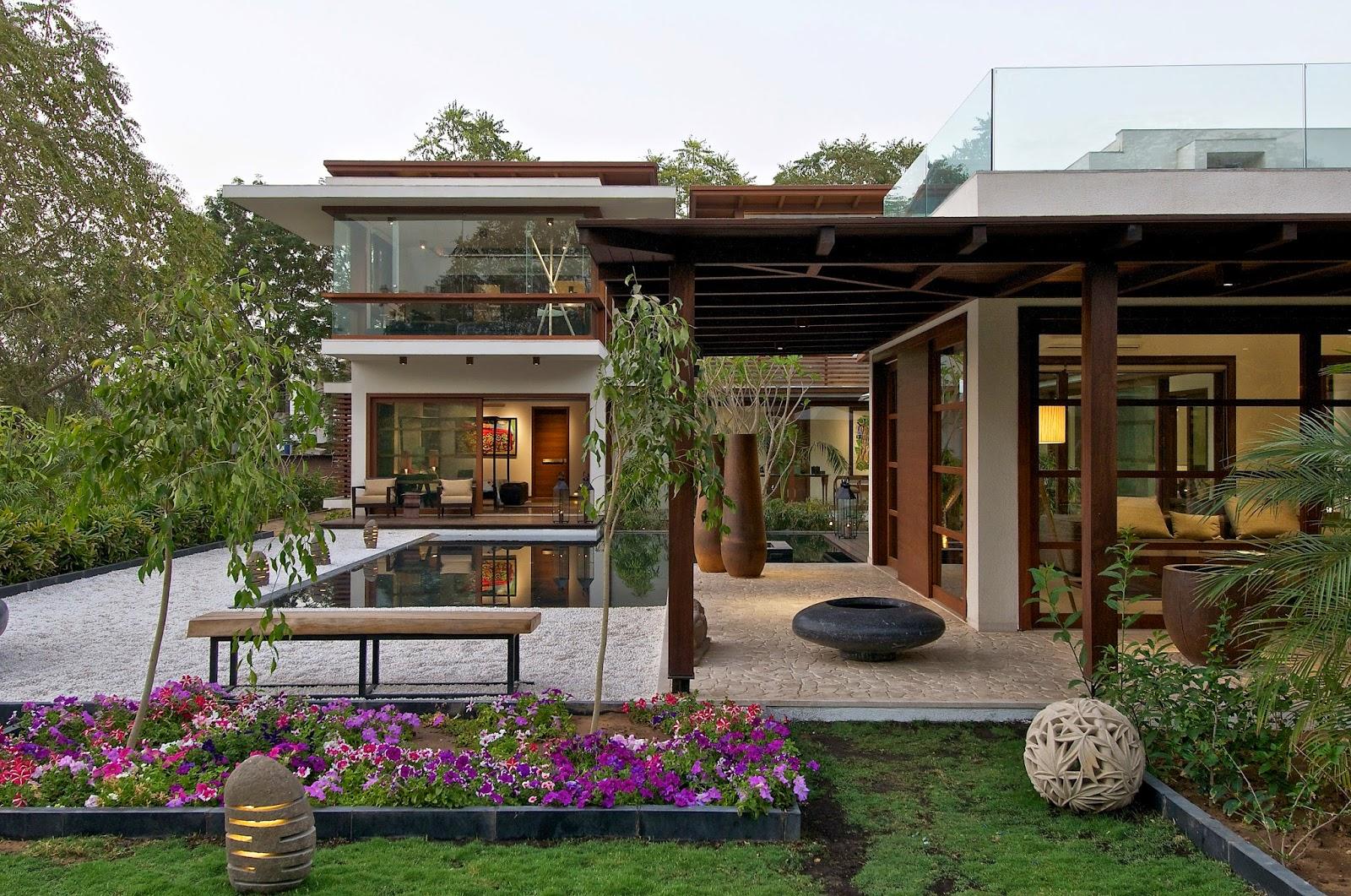 Preparing a Courtyard at Home