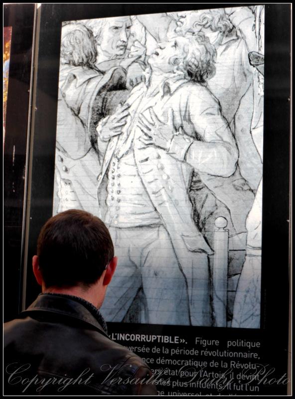 Robespierre salle du Jeu de Paume Versailles