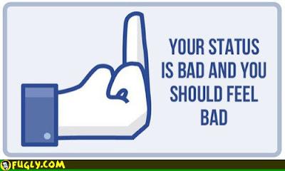 Kata Kata Status Facebook Lucu
