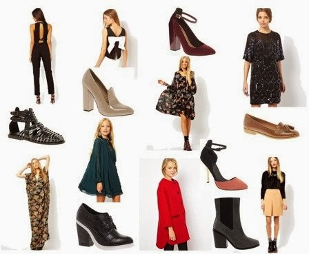 ASOS sale dresses, ASOS floral maxi, red platform heels, red shiny Oxford loafers, smoking flats with tassels, best affordable dresses online, blouse with bow on back, black and white ASOS top, Zara silk blouse with bow, cheap cute clothes online, black lace maxi dress, Winter dresses, floral long maxi dress, black leather gladiator sandals, color block heels, tan and black chunky heels, color blocked tall sandals, nude loafer heels, red pea coat, tan and black trench coat, tuxedo women's outfit, best new heels 2014, trendy heels and booties, ASOS sale picks, black booties with buckles, leopard booties, DV booties, MIA lace up boots, black winter booties
