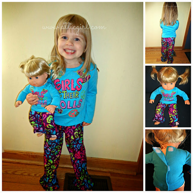 Dollie & Me, holiday gifts, american girl bitty twin clothing
