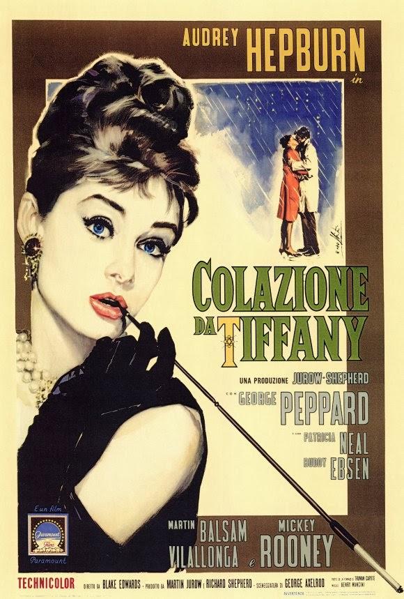 Αποτέλεσμα εικόνας για ITALIAN 'BREAKFAST AT TIFFANY'S/COLAZIONE DA TIFFANY' (1961) POSTER