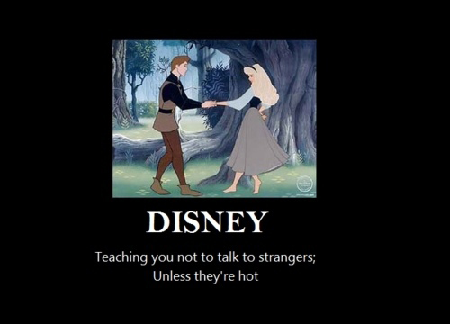 Disney - Teaching You Not To Talk To Strangers - Unless They're Hot