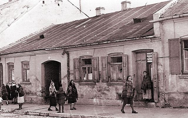 Końskie, getto, ul. Kazanowska 3. Fotografię udostępnił Mateusz Partyka