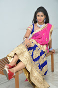 Pavani Gorgeous in half saree-thumbnail-14