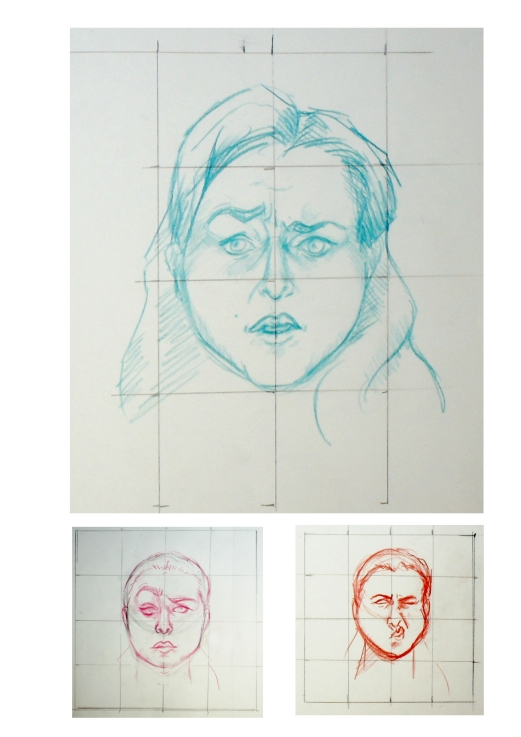 manu lafay dessin auto-portrait