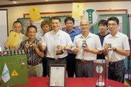 大葉大學電機系師生研發團隊再度榮獲「2012年義大利國際發明展」2金1銀1特別獎