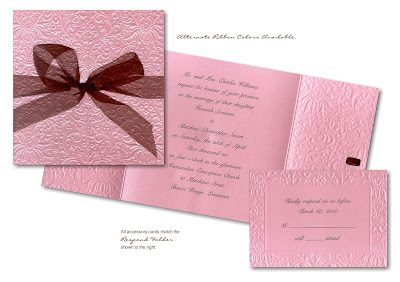 cheap Pink Wedding Invitations