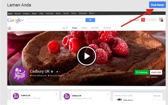 Cara Bikin Halaman Google+ Baru