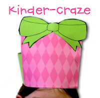 "Free ""Gift-Wrapped Headband"" Craftivity download"