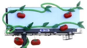 Reka Bentuk Papan Peraga 3 Dimensi yang bertemakan jus buah-buahan