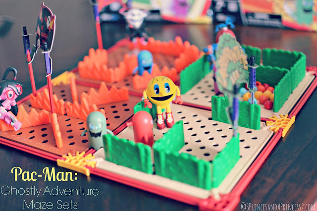 PAC-MAN and the Ghostly Adventures: Maze Assortment Set by #KNEX