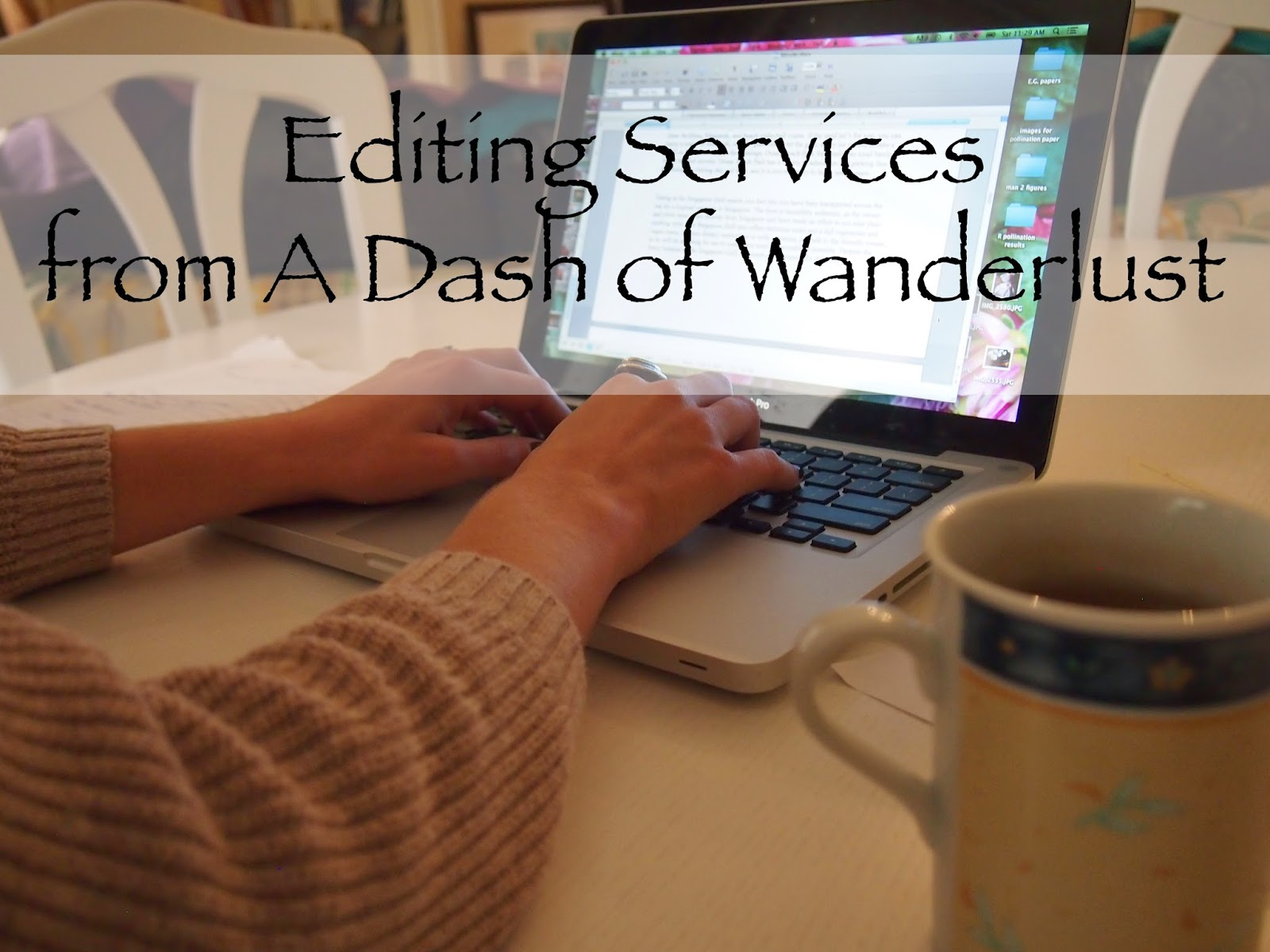 Freelance editing writing services