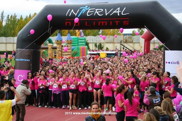 Carrera mujeres contra el cancer
