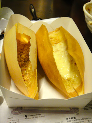 Peanut and cheese crepes Malaysian Food Street Sentosa