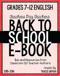 ELA TpT Back to School E-Book