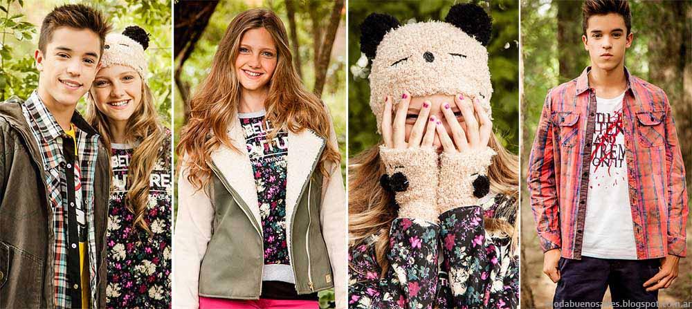 Moda otoño invierno 2015. Buddies ropa para teens otoño invierno 2015.