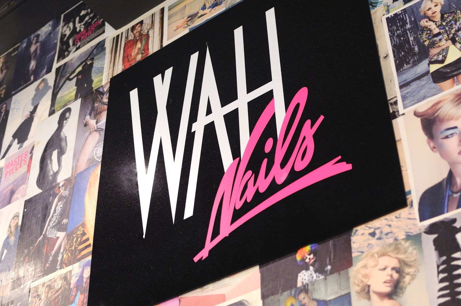 wah nails in london