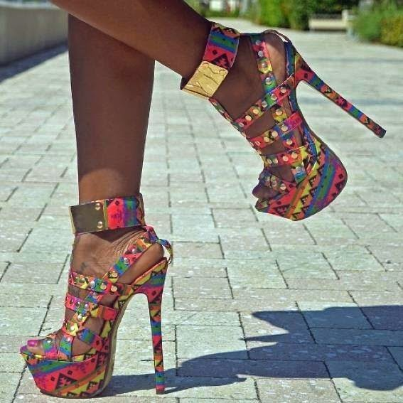 Cut Out Heels Designs #2..