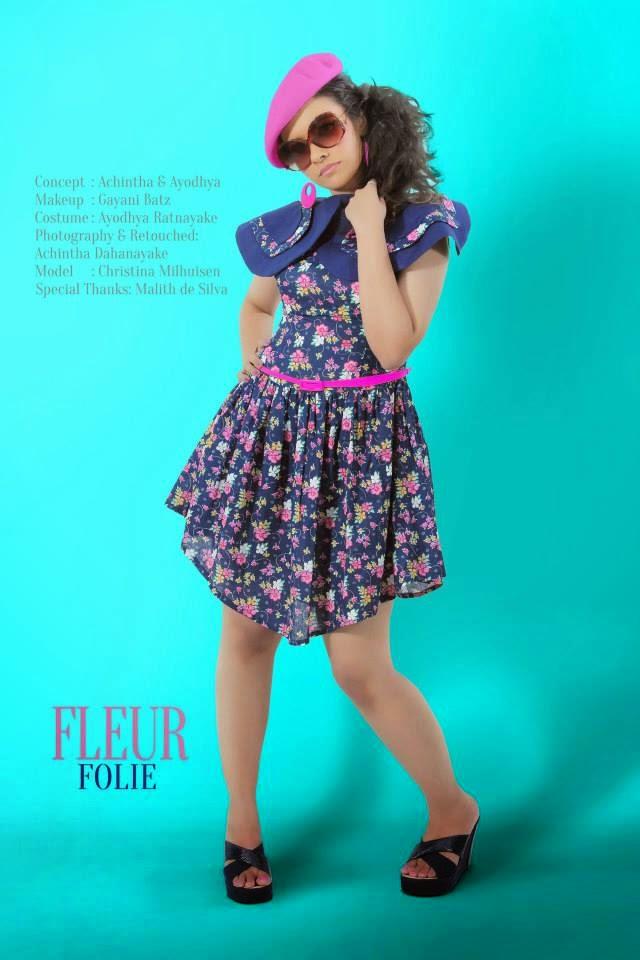 Christina Milhuisen mini dress