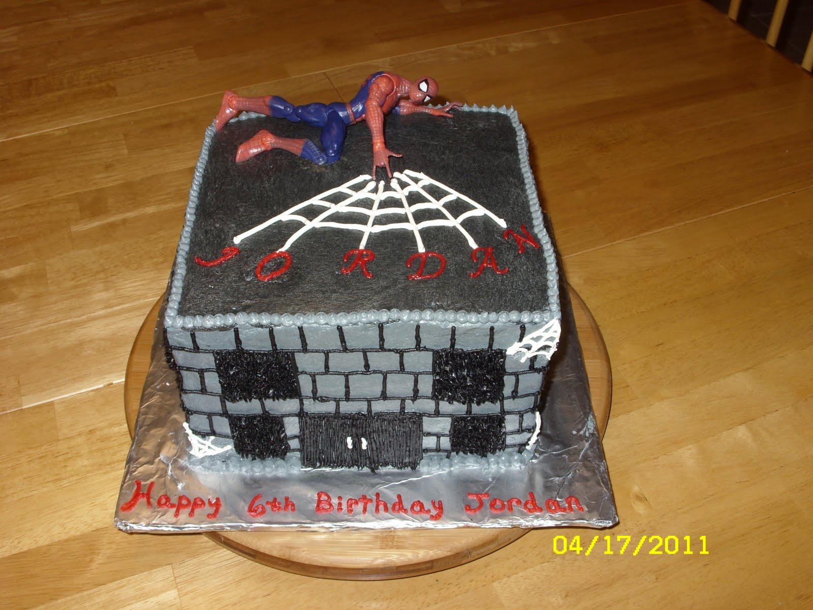 Free Cakes For Kids Killeen Our 18th Cake Spiderman For Jordan