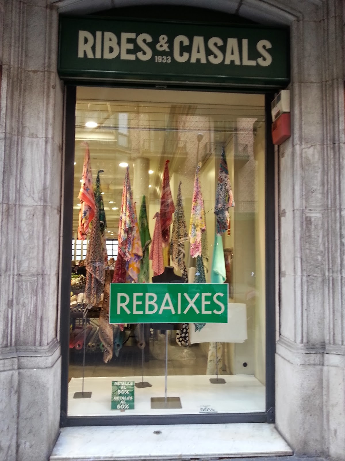 Fabric Shop Barcelona