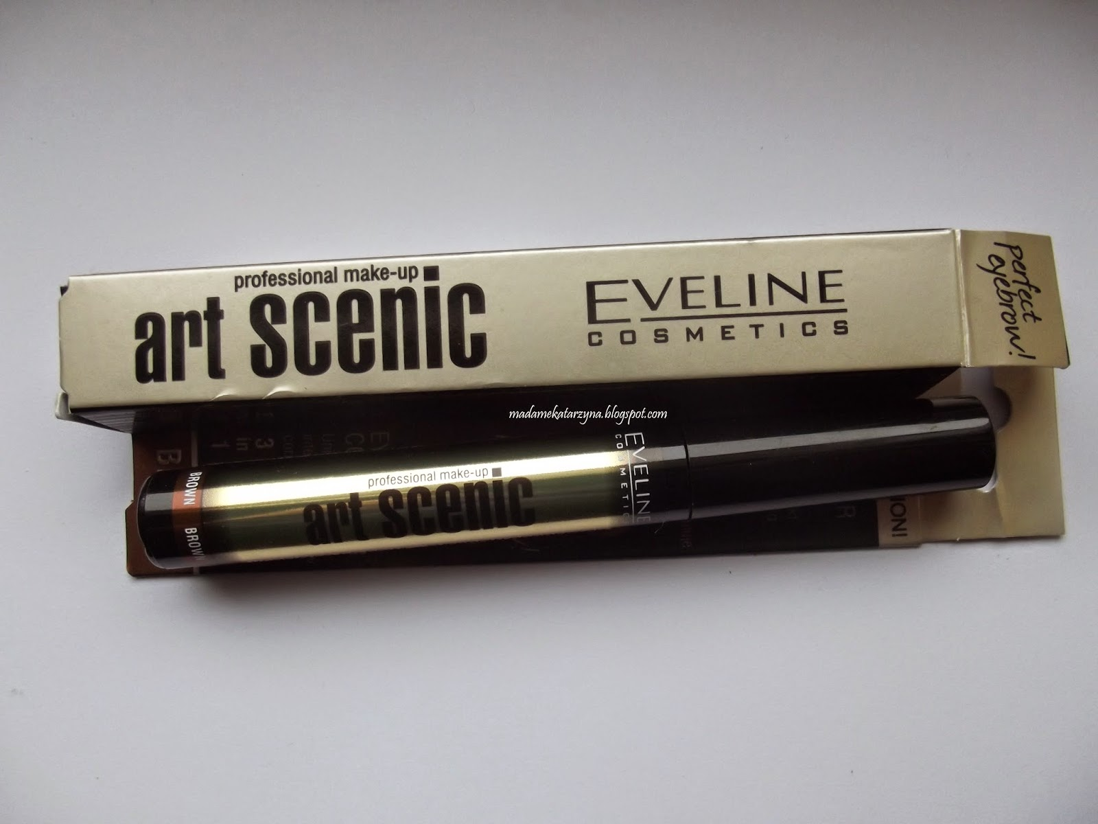 Eveline Art Scenic  Korektor do brwi 3 w 1 recenzja