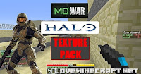 [Texture Packs] Minecraft Halo MC – WAR Texture Pack 1.6.2