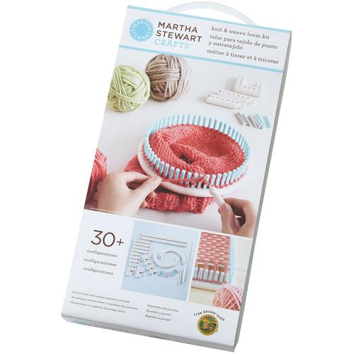 Knitting Hook Walmart : Crochet is fun martha stewart weave and loom kit