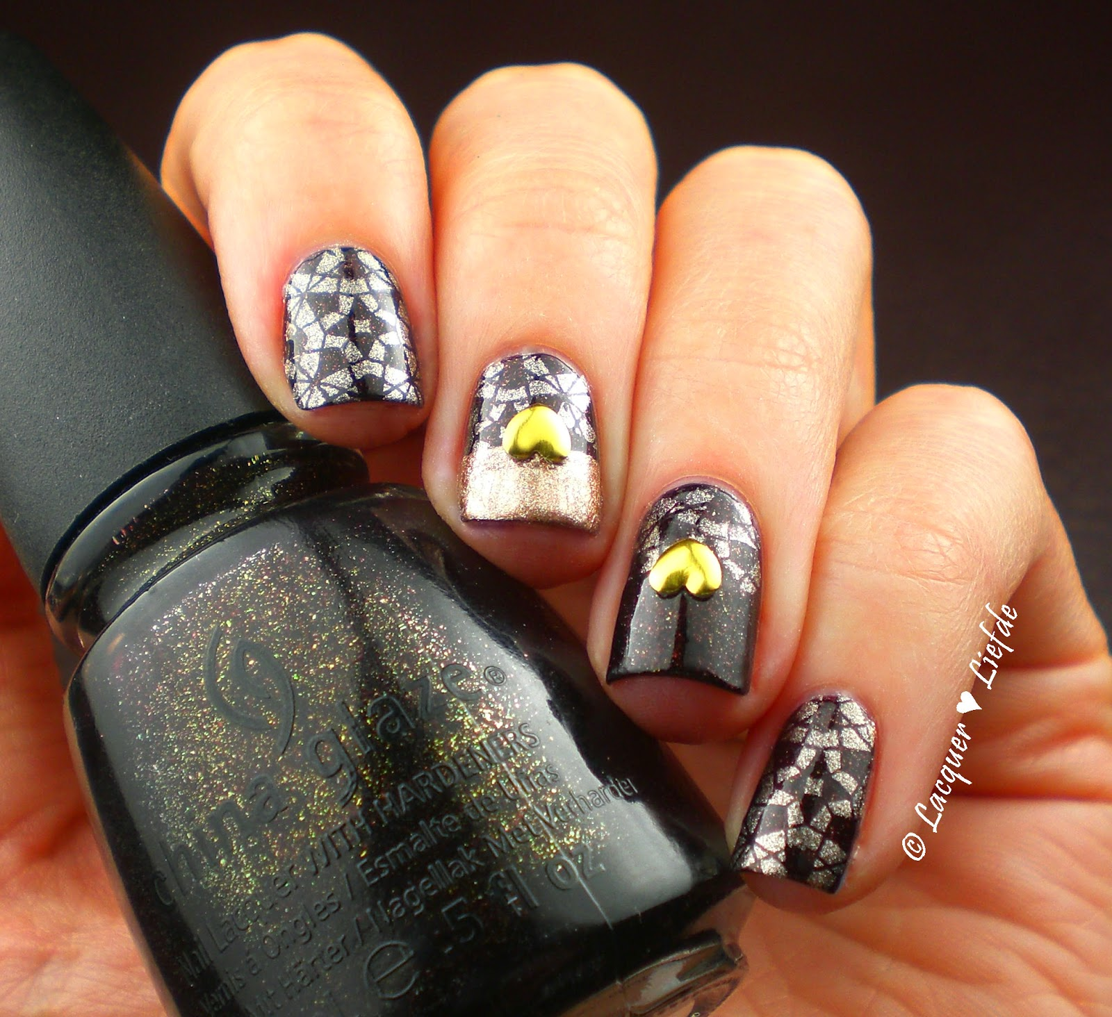 China Glaze Midtown Magic Kaleidoscope Stamping MoYou London