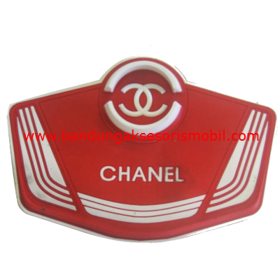 Dash Mat Chanel Jepitan + HP Merah - Putih Japan