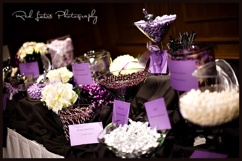 Blessings from leann a lifetime in the making wedding for Candy bar for weddings receptions