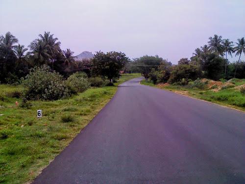 Good roads from Rayakottai to Anusonai, Tamil Nadu