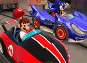 Sonic vs Mario Puzzle