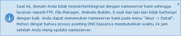 pointing DNS idhostinger