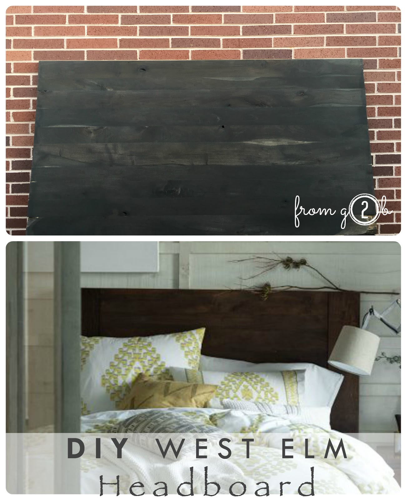 from gardners 2 bergers diy west elm headboard
