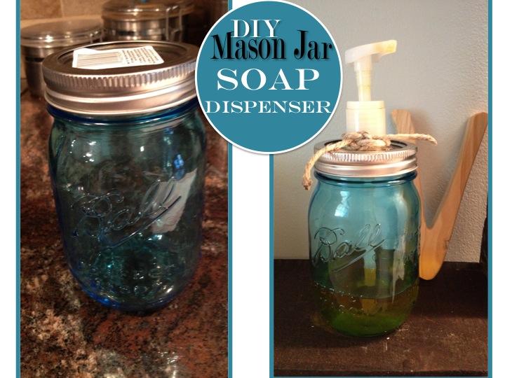 Two it yourself diy glass bottle or mason jar soap dispenser solutioingenieria Images