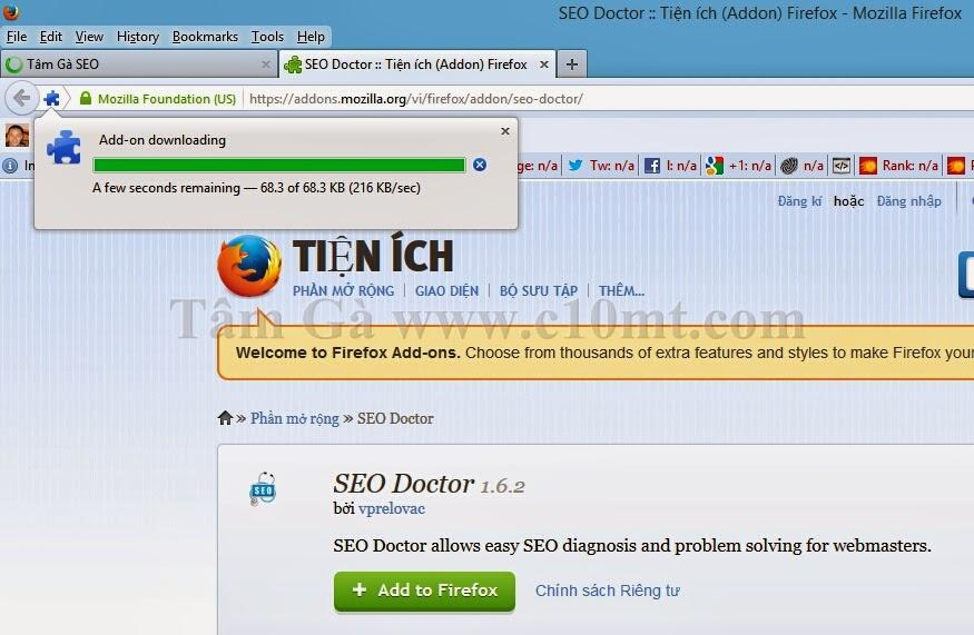 hướng dẫn cài đặt Tool Seo Doctor