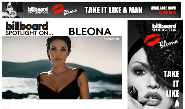 Bleona Qereti in Billboard Magazine