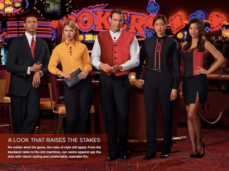 Casino dealer uniforms american wasteland casino